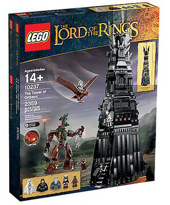 LEGO 10237 Tower of Orthanc - Brand New In Sealed Box