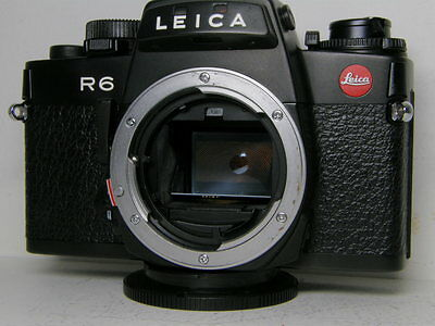 Excellent Leica R6 black finish Body Germany