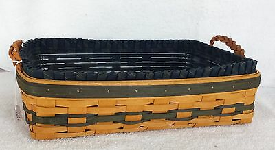 Vintage Longaberger 1996 Small Serving Tray Collector Club Edition Combo