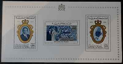 Maroc Morocco المغرب Bloc Feuillet N°9 Neuf ** Luxe Mnh Cote 25€