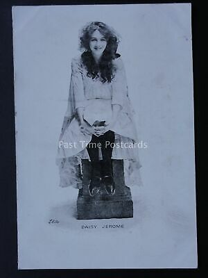 Stage & Theatre Actress DAISY JEROME c1904 Postcard by Elite - Smart Novels