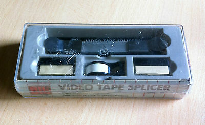 VIDEO TAPE SPLICER Bib SEALED made in Englad 12 mm RARE