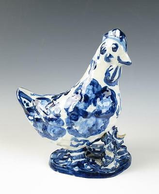 Early M.A. HADLEY CHICKEN VASE Vintage Art Pottery Rooster Mary American M A MA
