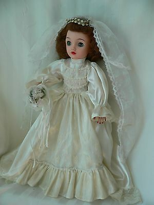 Miss REVLON DOLL - Ideal  VT- 18 HONEY BLONDE in Home-made Wedding Gown