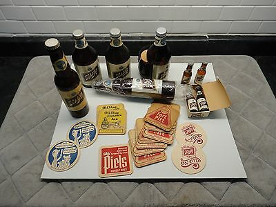 Lot of Schlitz beer coasters .Flash lights ..Salt and pepper shakers  and others