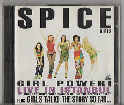 Girl Power! Live In Istanbul by Spice Girls (VCD Format, 2 Discs)
