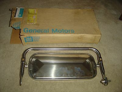 Vintage NOS GM Chevrolet GMC Truck Chrome Outside Rear View Mirror Pickup Truck