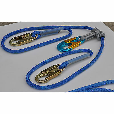 Husky Coated 2 in 1 Continuous Connection Adjustable Lanyard All Gear