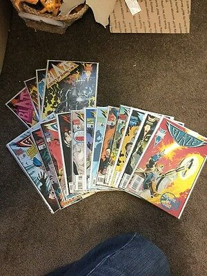 Blaze #1-12 1994 Near Mint Complete Set Marvel Comics