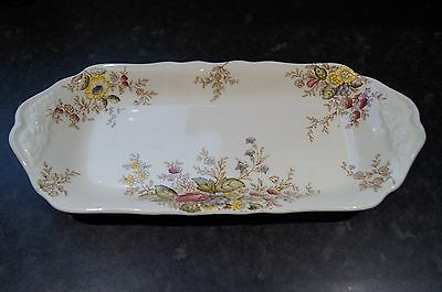 tea plate crown ware ducal rydal 29cm long in exellent condition