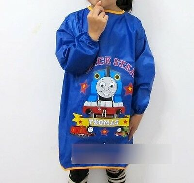 *NEW Thomas The Tank Engine Waterproof Arts Crafts Painting Apron Overall Kids*