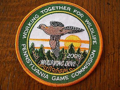 Pennsylvania Pa Game Commission Hunting Soldout Patch 2008 Morning Dove Wtfw