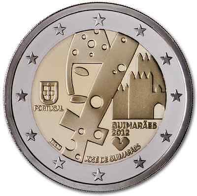 2 euro commemorative Portugal 2012 - Guimaraes