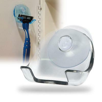Shaver Razor Toothbrush Holder Plastic Suction Cup Hook Bathroom Accessories T