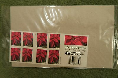 USA  STAMPS 2014 Poinsettia flower sheet unopened USPS MNH