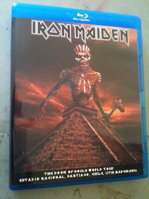 Iron Maiden Concert Blu Ray Santiago Chile The Book Of Souls Tour 2016 Multi Cam