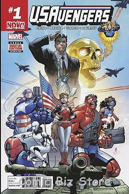 Us Avengers #1 (2017) 1St Printing Bagged & Boarded Marvel Now