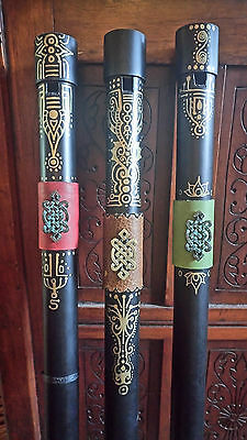 Fujara / Overtone Flute Designed - Full Set keys of A, D and C made in PVC