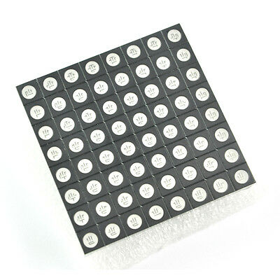 RGB Dot Matrix Display Module Colorful LED Common Anode 8x8 for Colorduino