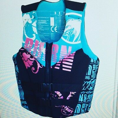 Burn-Industries Magneto ladies life vest jetski wakeboard kayak kitesurfing sup