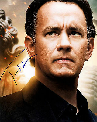 TOM HANKS signed autograph 10x8 with Coa