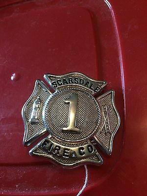 Antique Scarsdale Company # 1 Fire badge