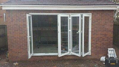 Upvc Bi-Folding Doors £425 + Vat Per Sash With Quick Turnaround