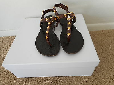 Tory Burch leather brown sandals Size 7.5