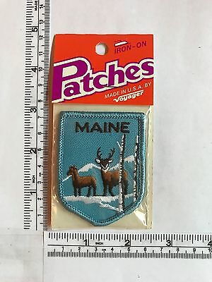 Vintage US State Maine Collectible Patch
