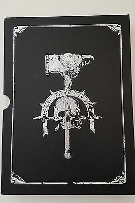 Warhammer 40k Rulebook - 4th ed. - Collector's limited edition, OOP