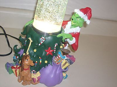ULTRA SCARCE How the Grinch Stole Christmas Lava Lamp, UNIVERSAL 2000. Used.