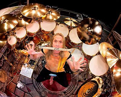 Nicko Mcbrain Glossy 8x10 Photo  1