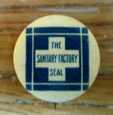 1920's-30's The Sanitary Factory Seal Minuet Wafers See Write Up Below For More