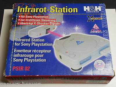 Infrarot-Station / Wireless Adapter für Playstation 1 / PS1 Controller