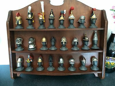 Franklin Mint -The Military Helmets of the World's Greatest Regiments Set of 24