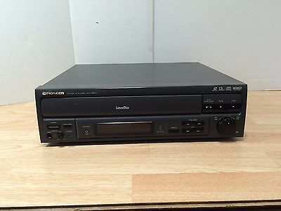 Pioneer CLD-V2600 Laserdisc Player CD CDV LD PLAYER AS IS