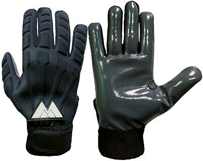 MM Padded American Football Gloves