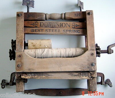 ONE VERY OLD PART OF DOMINION WASHING MACHINE, No.111