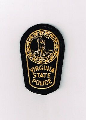 Virginia State Police Department Police Small Patch