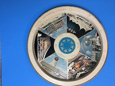 Montreal Expo '67 Worlds Fair serving tray