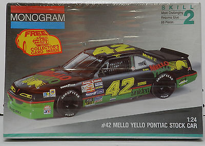 Kyle Petty Mello Yello 42 Pro Set Card Pontiac Grand Prix Fs Monogram Model Kit
