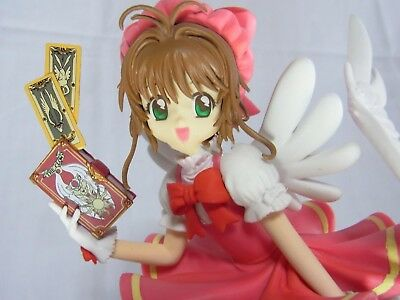 Clamp Card Captor Sakura Fine Quality Prize Figure Sakura Kinomoto Brand-New