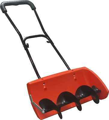 Snow Screw - Auger Style Manual Snow Blower Thrower - Heavy Duty Turning Pusher