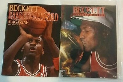 Michael Jordan Beckett Price Guide Issue #1 #14 March-April September