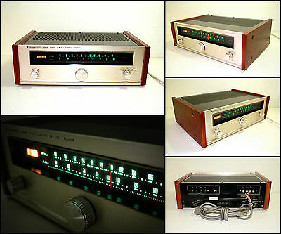 KENWOOD KT-3000 Solid State AM FM Wooden Stereo Tuner