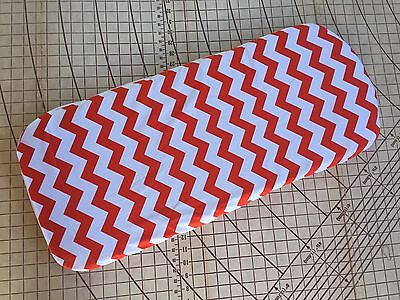 Bugaboo Cameleon fitted sheet for carrycot bassinet Orange Chevron