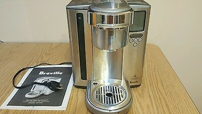 Breville BKC700XL Gourmet Single Serve K-Cup Coffee Brewer in Nice Clean Cond.