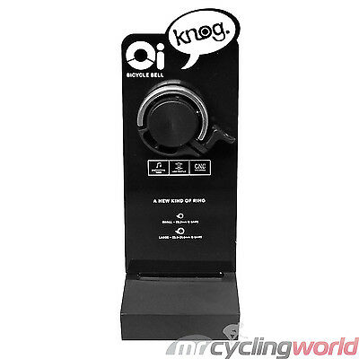 Knog Oi Bell Classic Large Silver - Retail Display Mount Version