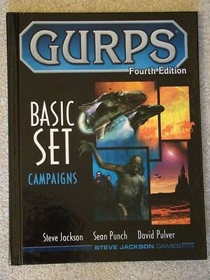 GURPS Basic Set Campaigns 4th Edition NM