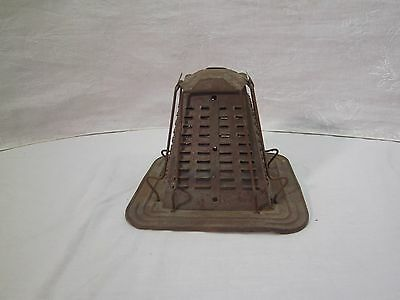 Vintage Stove Top Or Outdoor Campfire 4 Slice Toaster